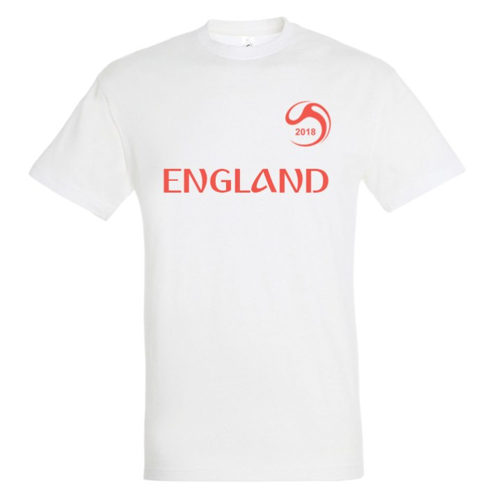 buy online 5af53 abe41 England National Football Team Fan Tee - Soccer Shop WORLD ...