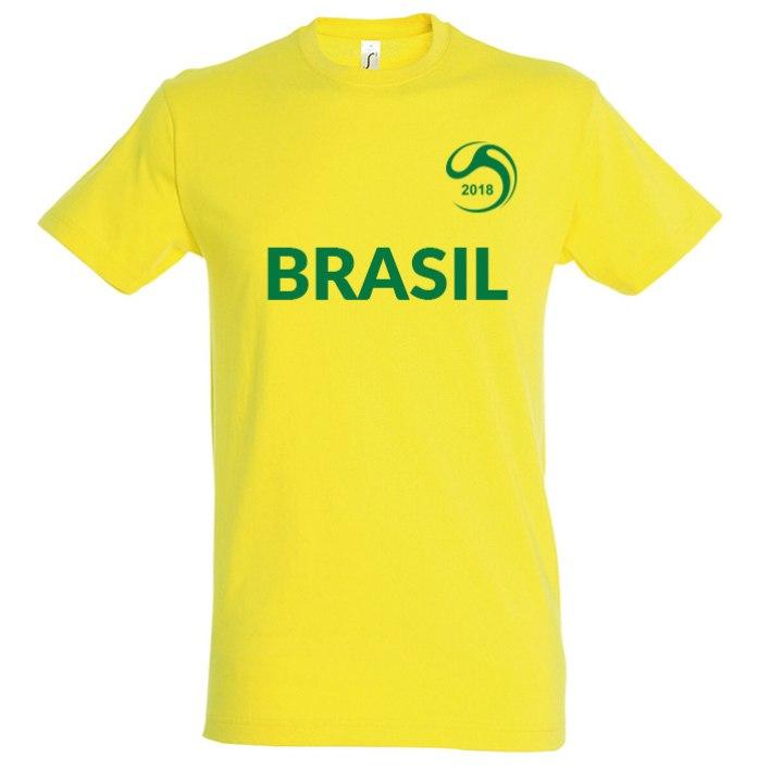 hot sale online ed70a 2c1f0 Brazil National Football Team Fan Tee - Soccer Shop WORLD ...