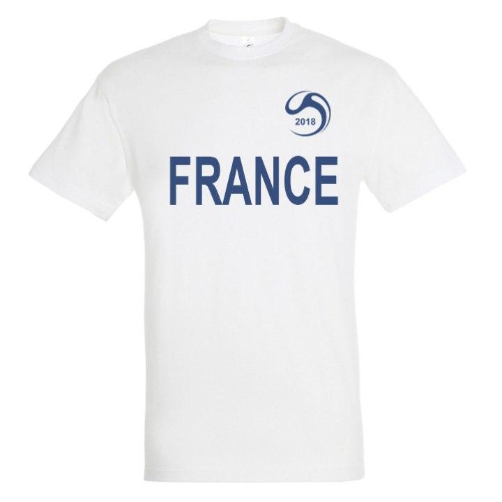 newest e2ee9 1ce5a France National Football Team Fan Tee - Soccer Shop WORLD ...