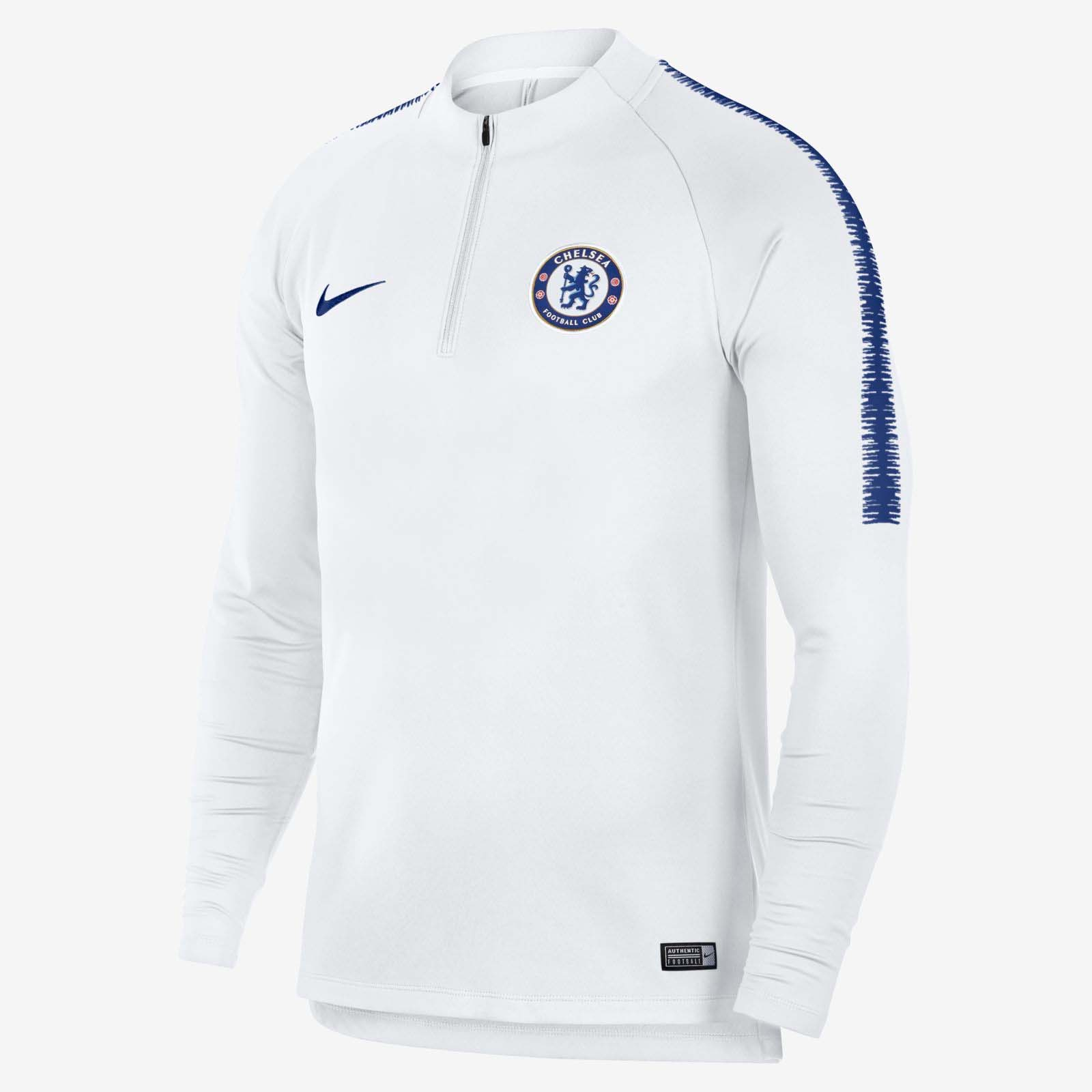 premium selection 78f64 c6cdc Nike FC Chelsea 2018/19 Dri-FIT Squad Drill Long Sleeve ...