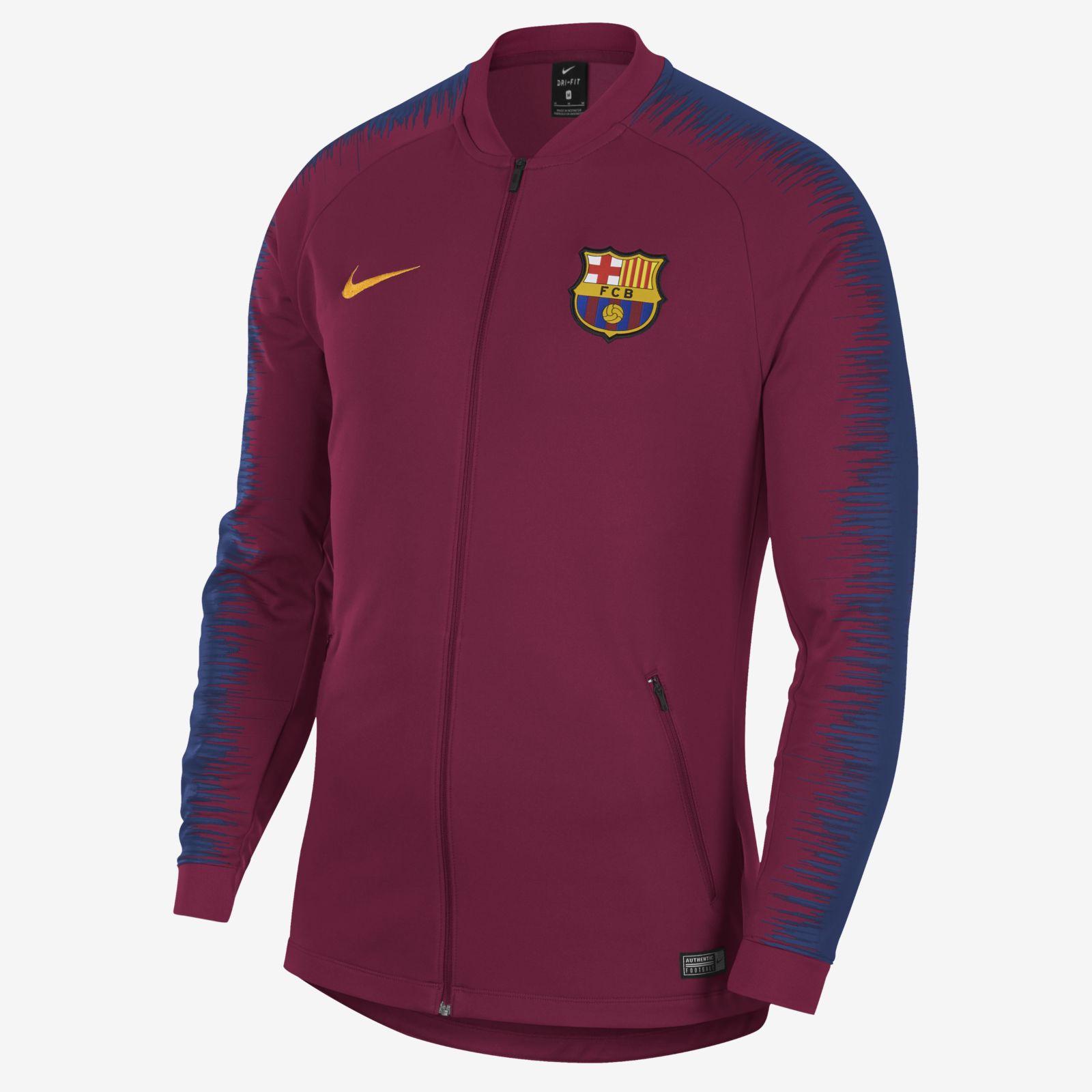 c0f79431fbe Nike FC Barcelona 2018 19 Anthem Jacket - Soccer Shop Barcelona FC  Merchandise - Superfanas.lt