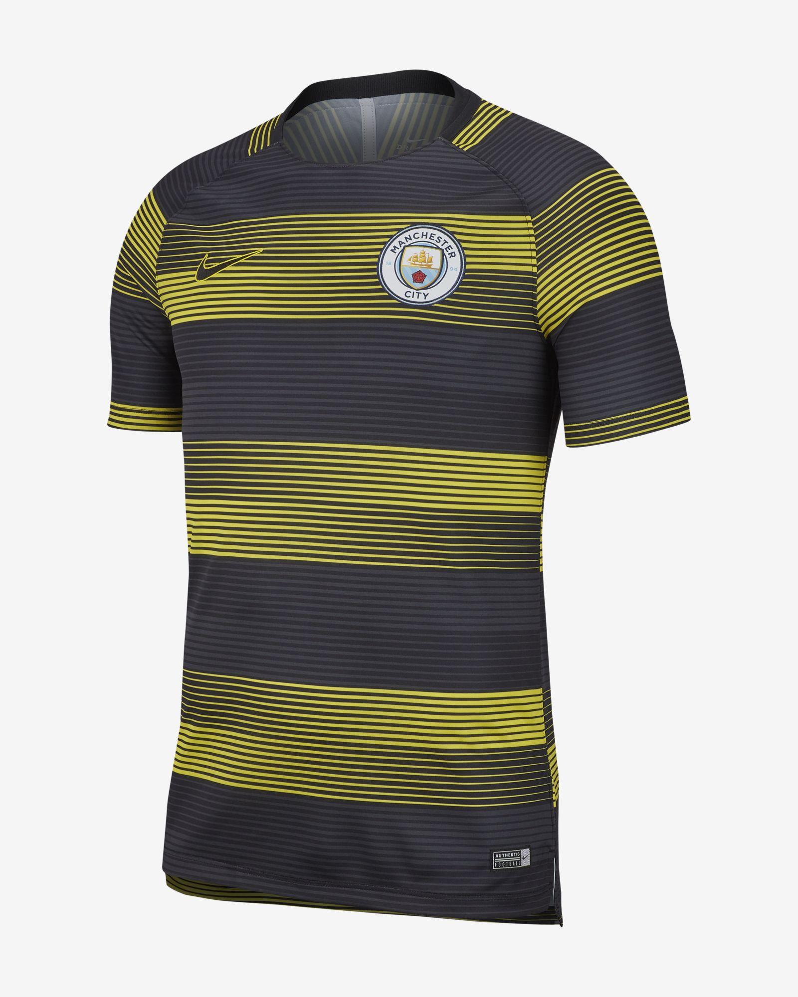 best sneakers 77582 0514d Manchester City FC Dri-FIT Squad Short Sleeve Football Top - Soccer Shop  Manchester City Merchandise - Superfanas.lt