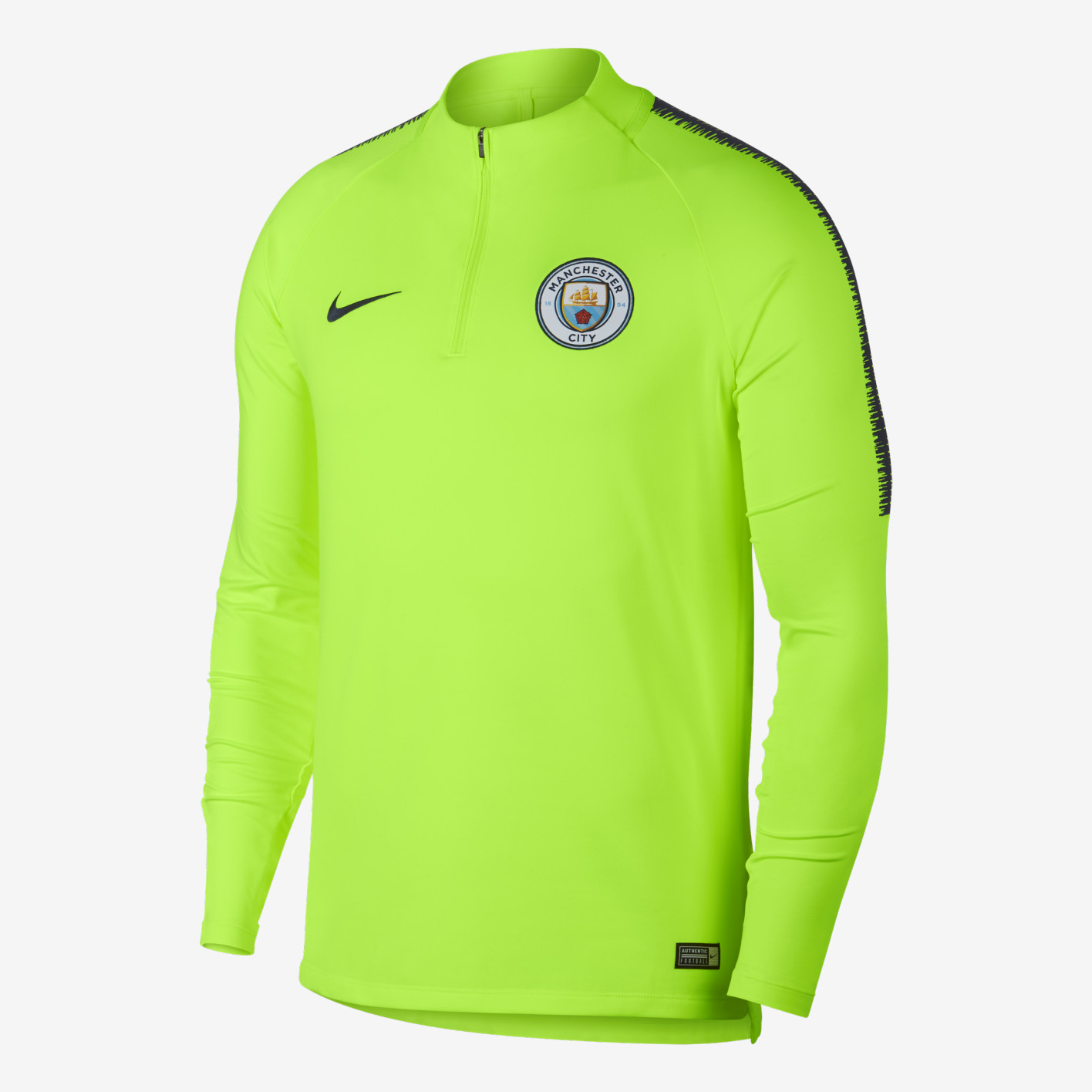 062fbeaee88 Nike Manchester City FC 2018 19 Dri-FIT Squad Drill Top - Soccer Shop Manchester  City Merchandise - Superfanas.lt