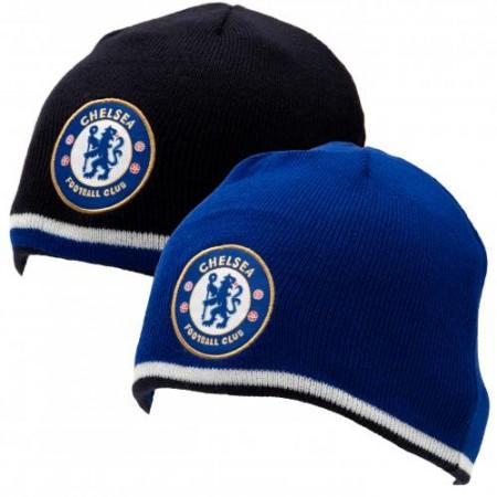 Chelsea FC Reversible Beanie - Soccer Shop London Chelsea