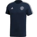 adidas Manchester United 3 Stripes Tee