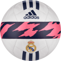 adidas Real Madrid Club Soccer Ball (Size 5)