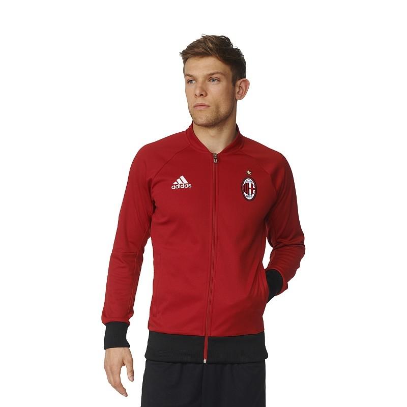 adidas ac milan anthem jacket soccer merchandise milan. Black Bedroom Furniture Sets. Home Design Ideas