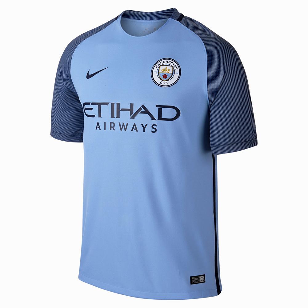 huge discount 03060 e3d2f Nike Manchester City Stadium Home Jersey - Soccer Shop Manchester City  Merchandise - Superfanas.lt