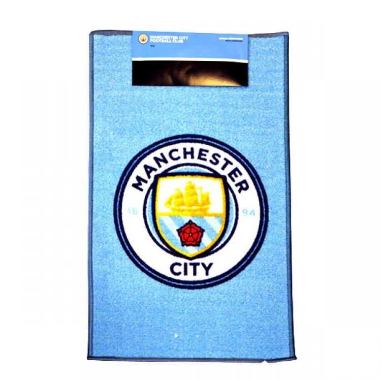 Fc Manchester City Rug Soccer Merchandise Manchester