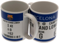 FC Barcelona Mug Game Ticket