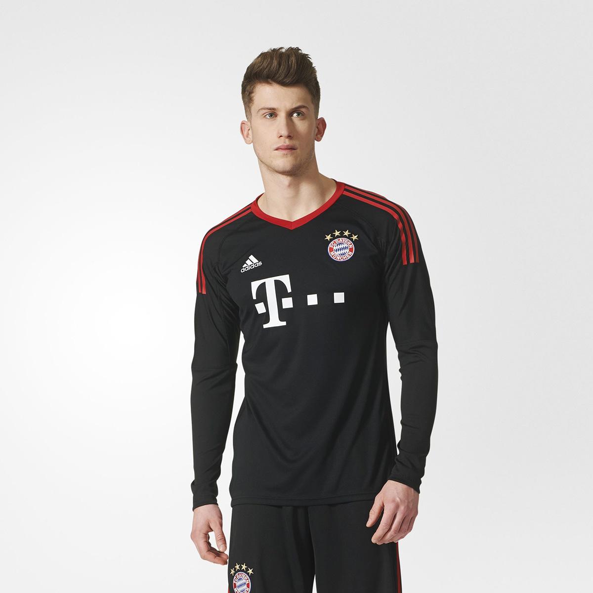best service bc220 d8fbe adidas FC Bayern Munich Replica Goalkeeper 2017-18 Jersey ...