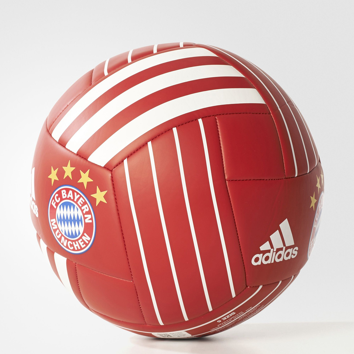 adidas fc bayern munich soccer ball soccer merchandise. Black Bedroom Furniture Sets. Home Design Ideas