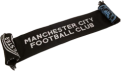 Manchester City FC Black Scarf
