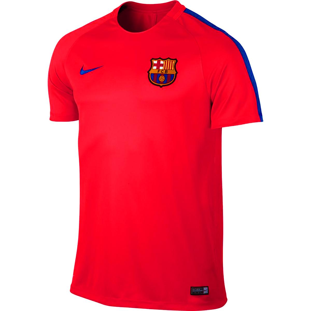 nike fc barcelona training tee soccer shop barcelona fc. Black Bedroom Furniture Sets. Home Design Ideas