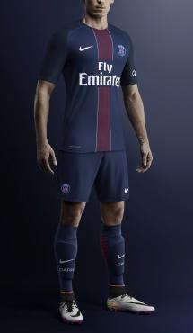 Nike Paris Saint-Germain Home Vapor Match Shortsleeve 2016-17 Jersey ... c7b65553d78e6