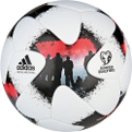 adidas European Qualifiers Official Match futbolo kamuolys