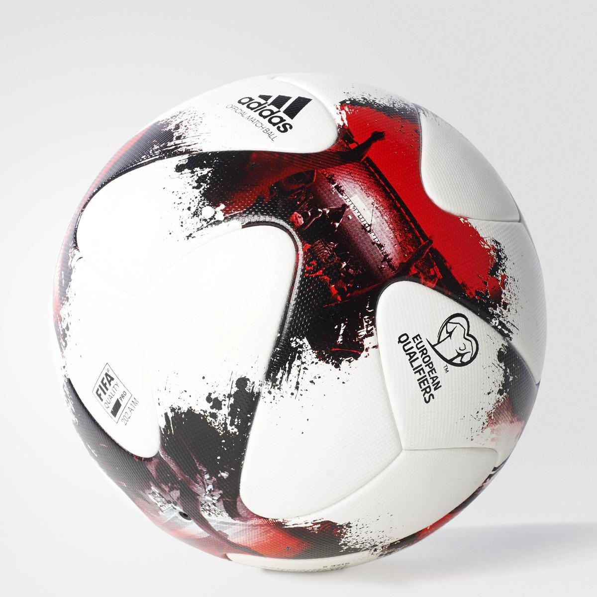 adidas European Qualifiers Official Match Soccer Ball