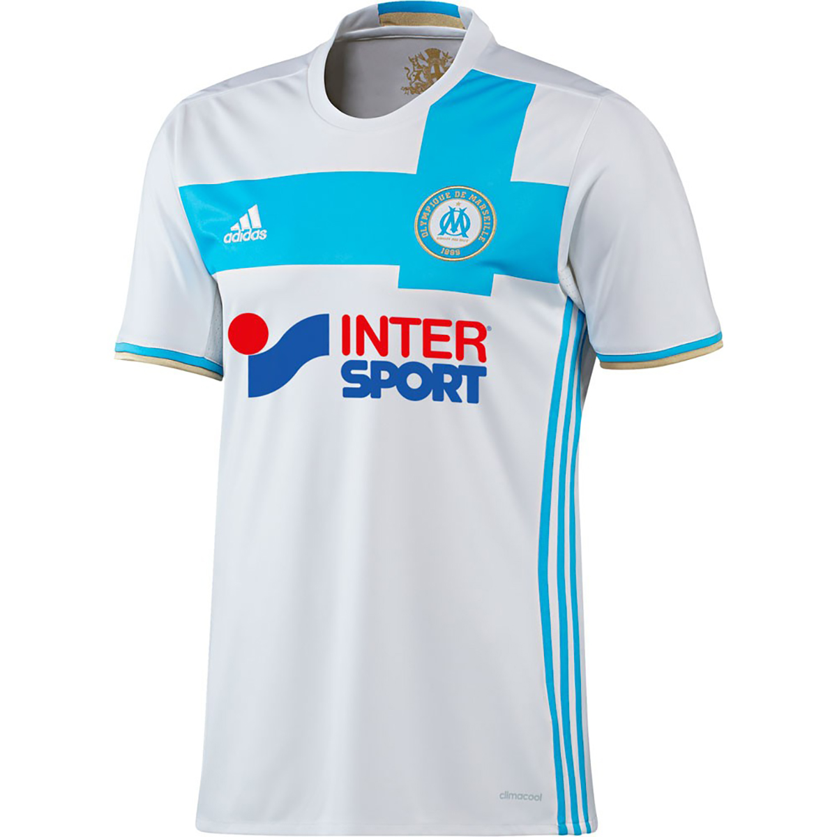 478accc34 adidas Olympique Marseille 2016-17 Home Replica Jersey - Soccer Shop  Football Clubs Merchandise - Superfanas.lt