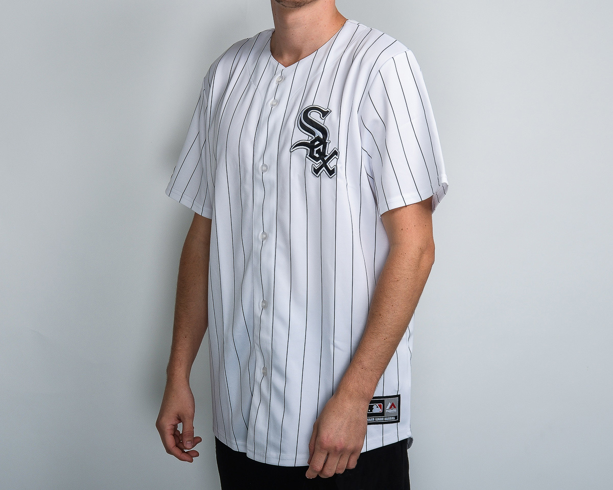 best sneakers 09348 a1b05 Majestic MLB Chicago White Sox Replica Jersey - MLB NFL NHL ...