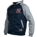 Majestic MLB New York Yankees Brisk Hooded Mix Fabric Striukė
