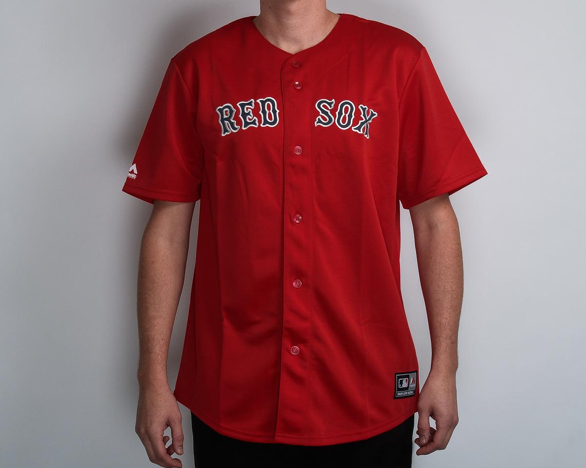 new style 87409 c6993 Majestic MLB Boston Red Sox Replica Jersey - MLB NFL NHL ...