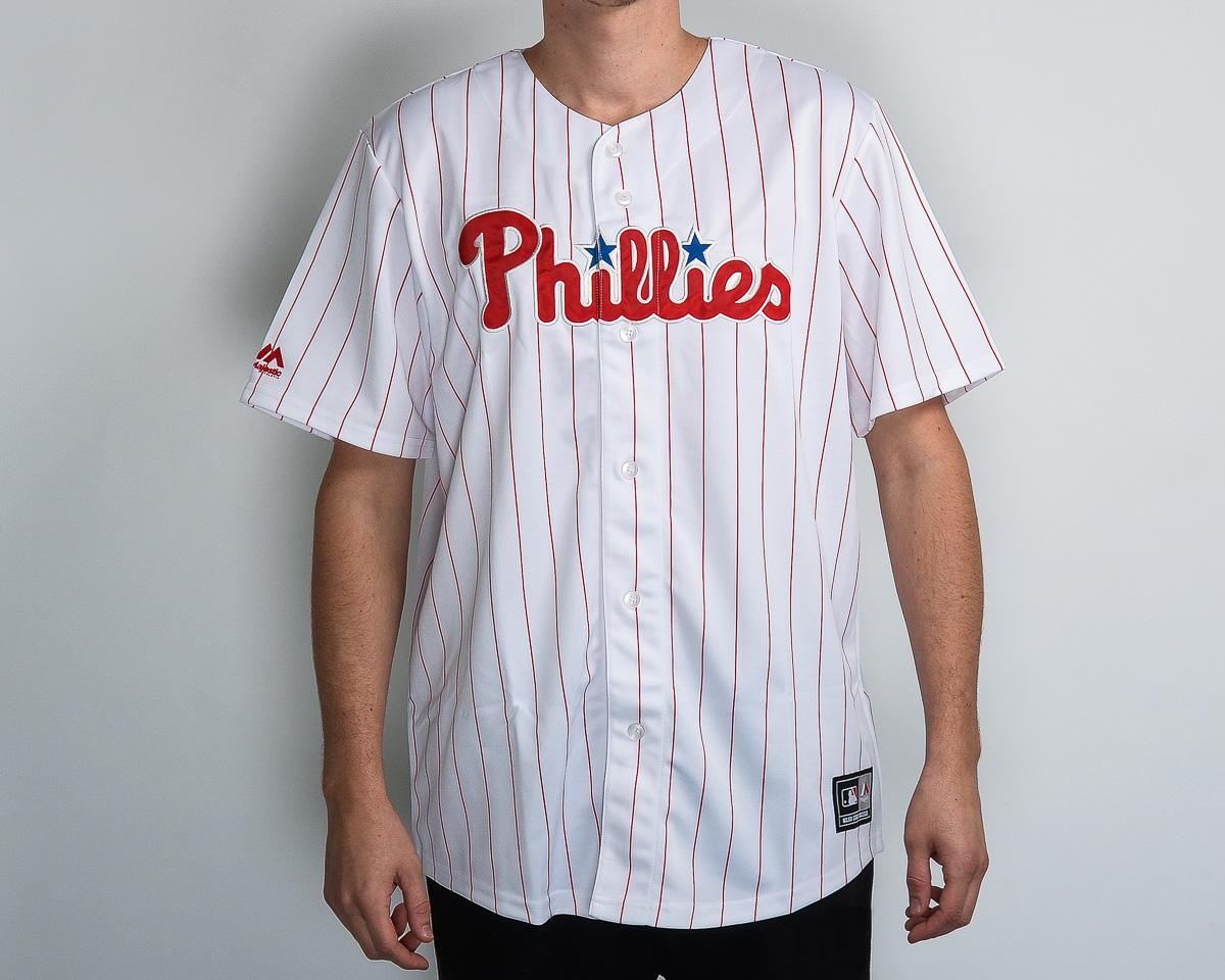 295d6d9dd Majestic MLB Philadelphia Phillies Replica Jersey - MLB NFL NHL SHOP MLB  Merchandise - Superfanas.lt