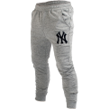 Majestic MLB New York Yankees Platt Slim Loopback Jogger Kelnės
