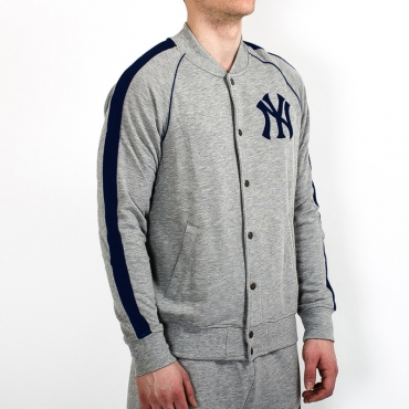 Majestic MLB New York Yankees Melter Fleece Letterman džemperis