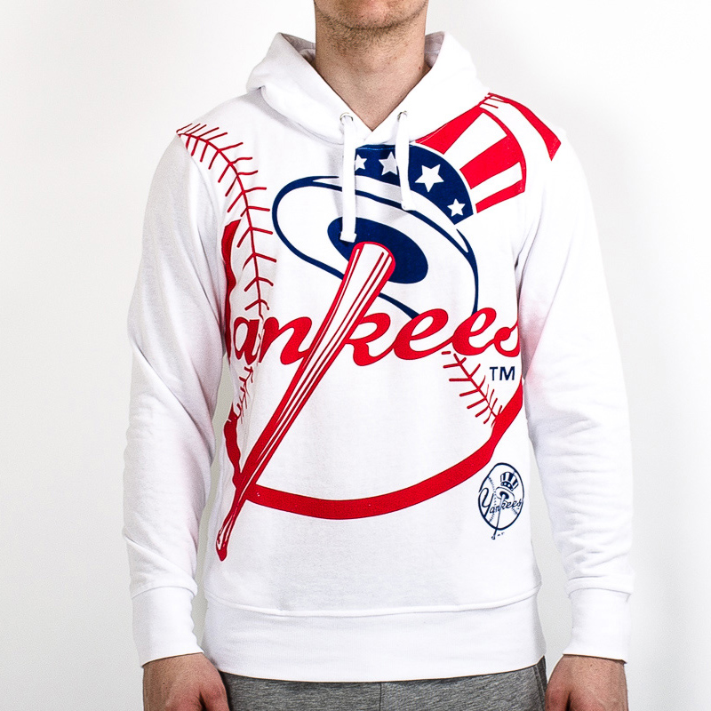 best service e788c d71bf Majestic MLB New York Yankees Bater Loopback OTH Hoodie ...