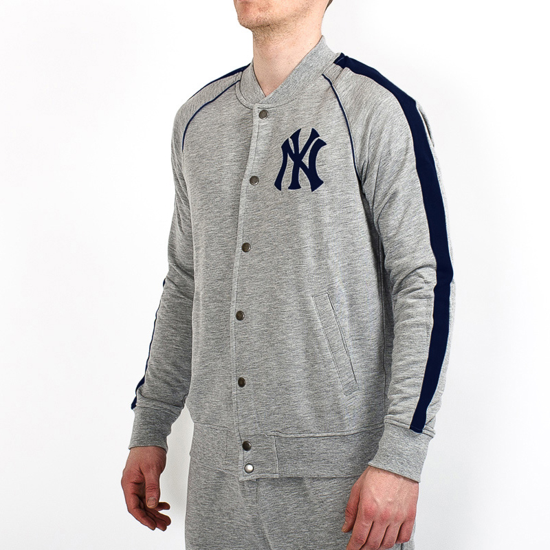 new photos ed25d 54028 Majestic MLB New York Yankees Melter Fleece Letterman Jacket ...