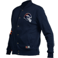 Majestic NFL Denver Broncos Emodin Fleece Letterman Džemperis