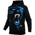 Majestic NFL Carolina Panthers Bater Loopback OTH Hoodie džemperis