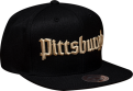 Mitchell & Ness NHL Pittsburgh Penguins Gotham City Snapback kepurė