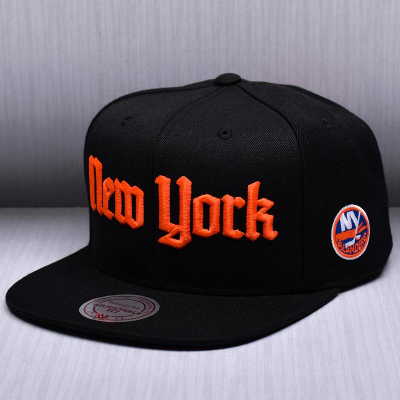 best sneakers c0a15 4351f ... get mitchell ness nhl new york islanders gotham city snapback cap e0e39  47d2c