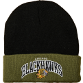 Mitchell & Ness NHL Chicago Blackhawks Arched Cuff Žieminė Kepurė