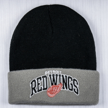 Mitchell & Ness NHL Detroit Red Wings Arched Cuff Žieminė Kepurė