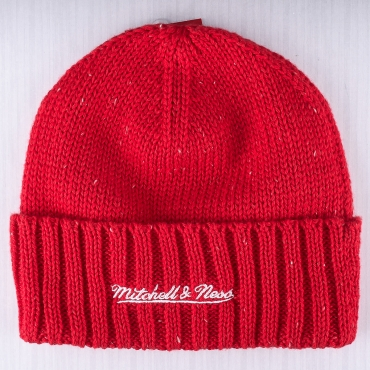 Mitchell & Ness NHL Detroit Red Wings TC Heather Stripe Knit Žieminė Kepurė
