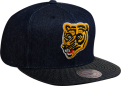 Mitchell & Ness NHL Boston Bruins Raw Denim Snapback Kepurė