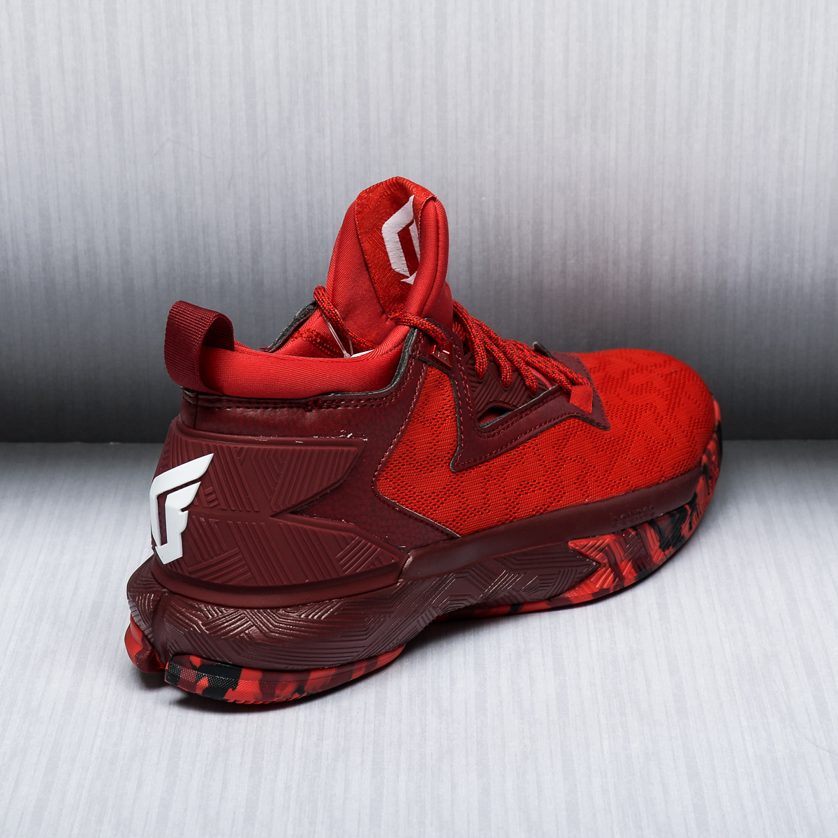Red Basketball Shoes Adidas