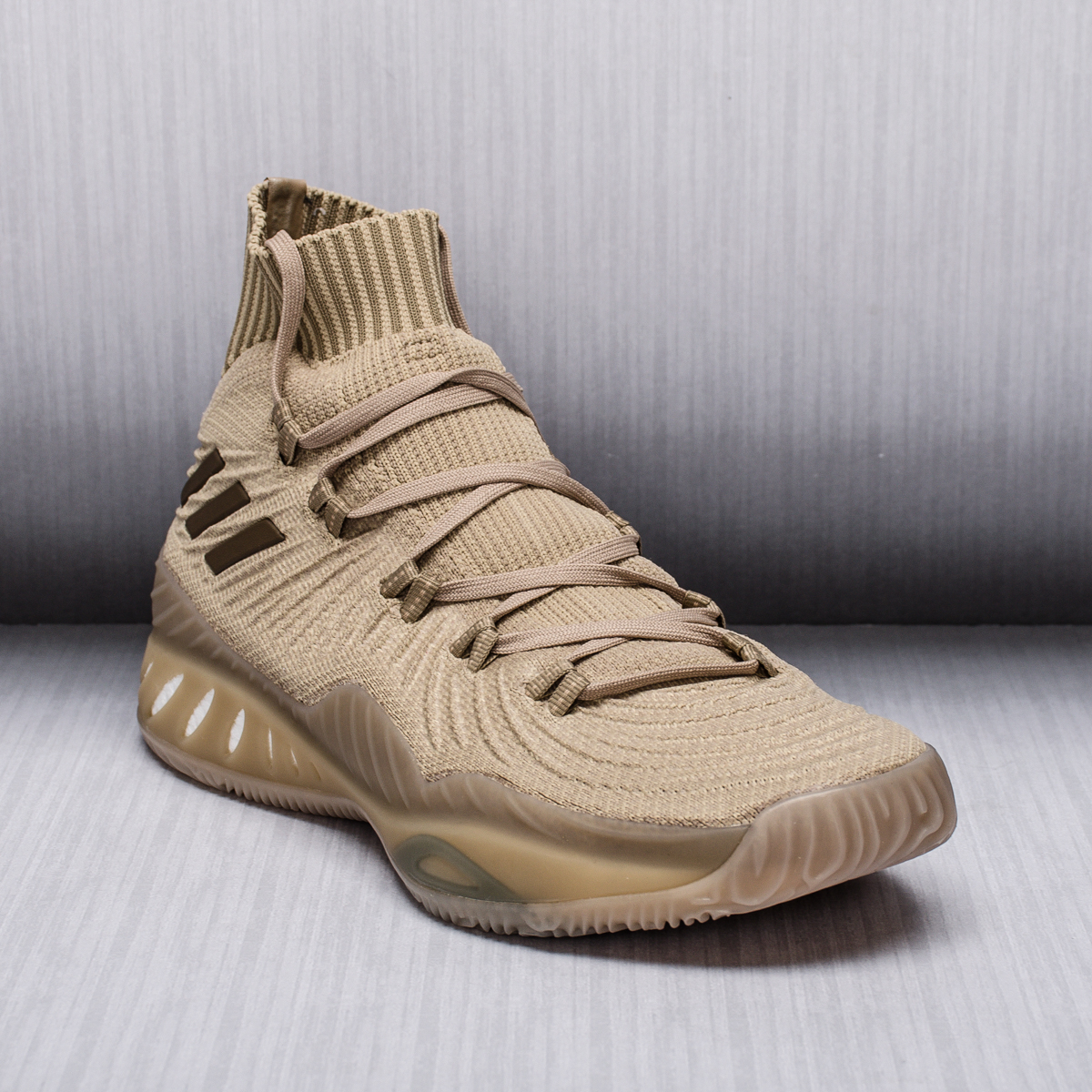 adidas Crazy Explosive 2017 Primeknit Trace Khaki - BASKETBALL SHOES Adidas  Basketball Shoes - Superfanas.lt b306560ed1