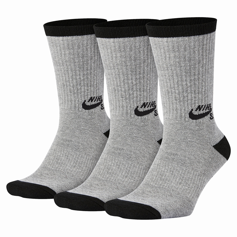 nike sb crew socks 3 pairs basketball shoes basketball. Black Bedroom Furniture Sets. Home Design Ideas