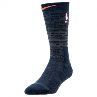 Nike NBA New York Knicks City Edition Elite Quick Socks - BASKETBALL ... 9dc04142b