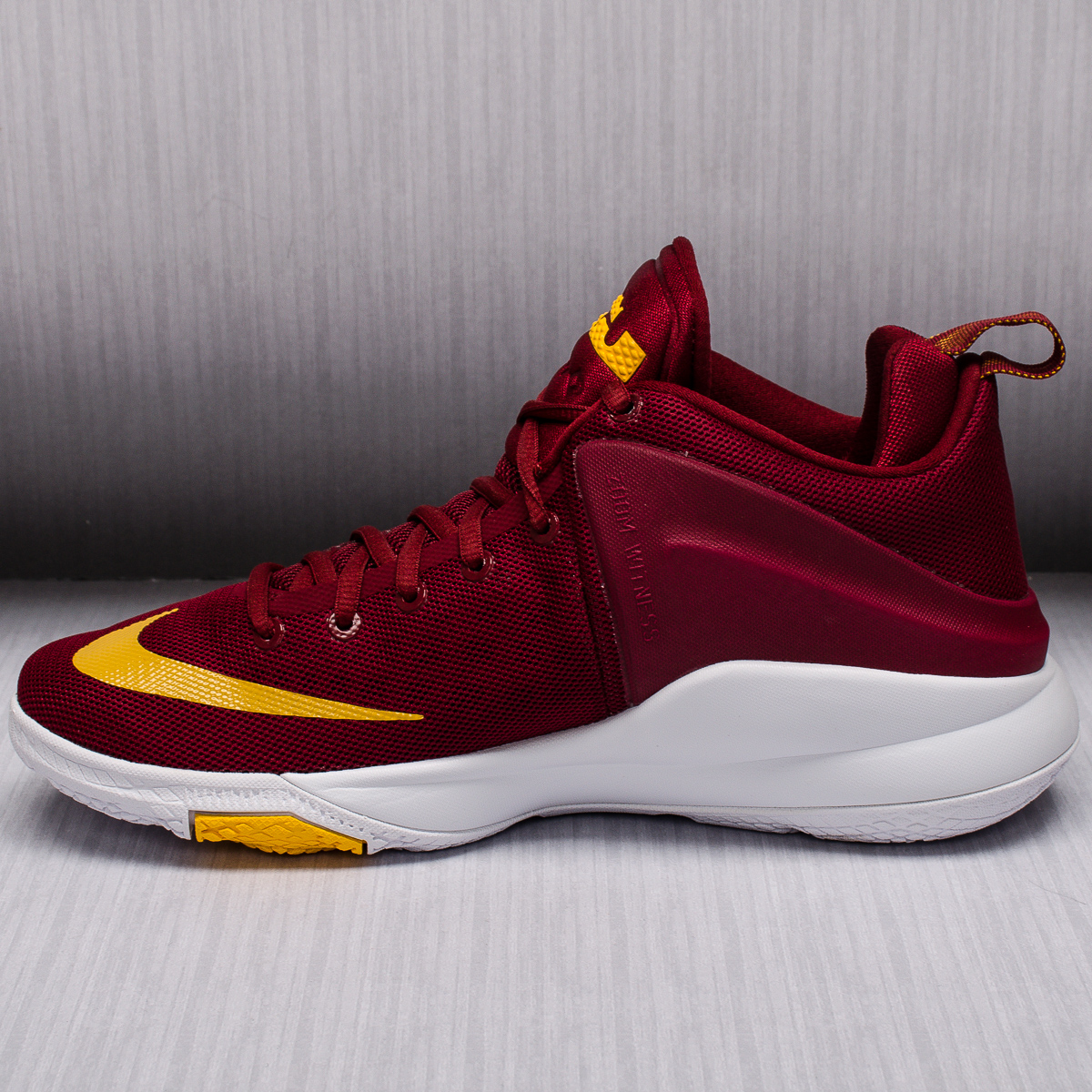 Nike Zoom Witness Cavaliers Basketball Shoes - BASKETBALL ...