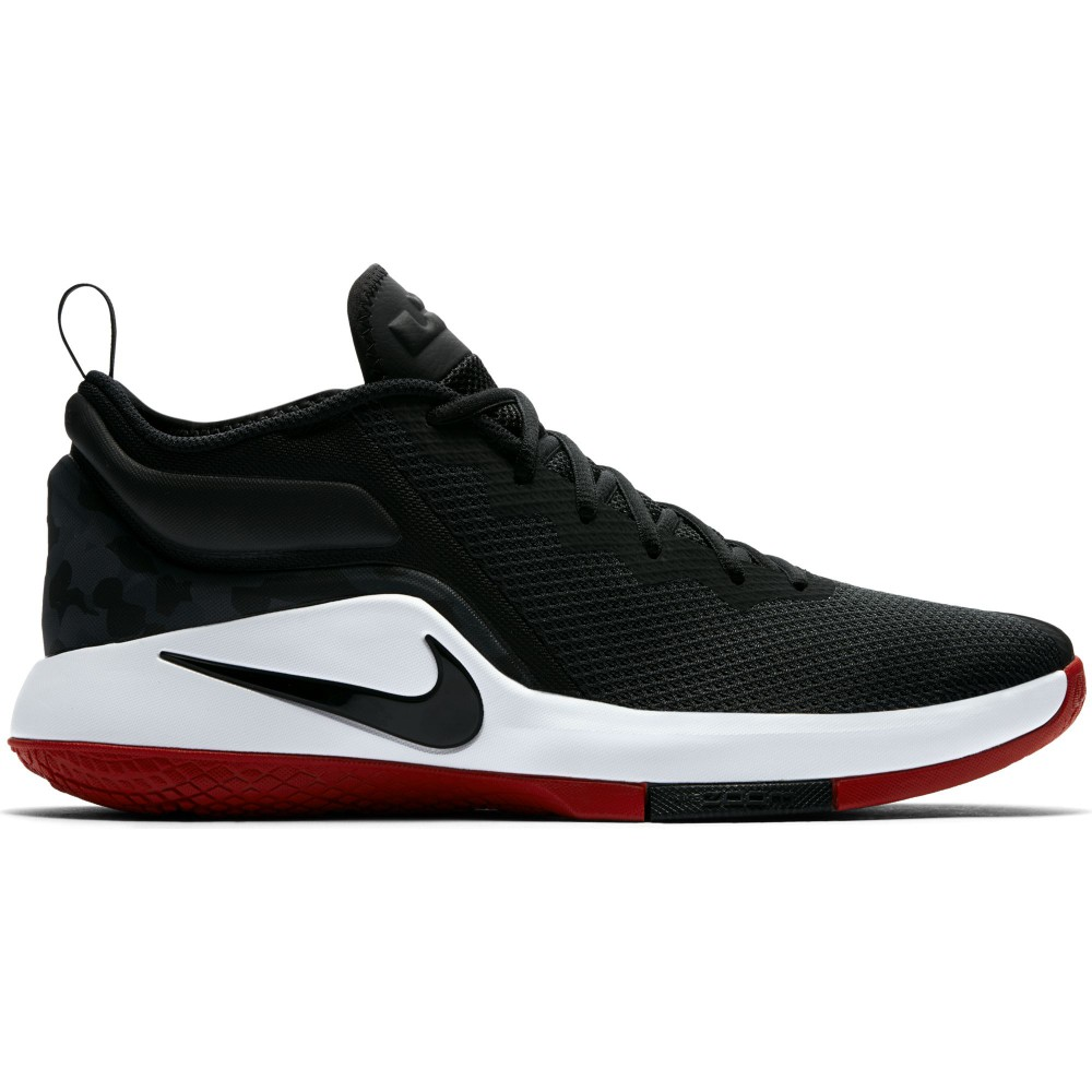Red Black And White Basketball Shoes