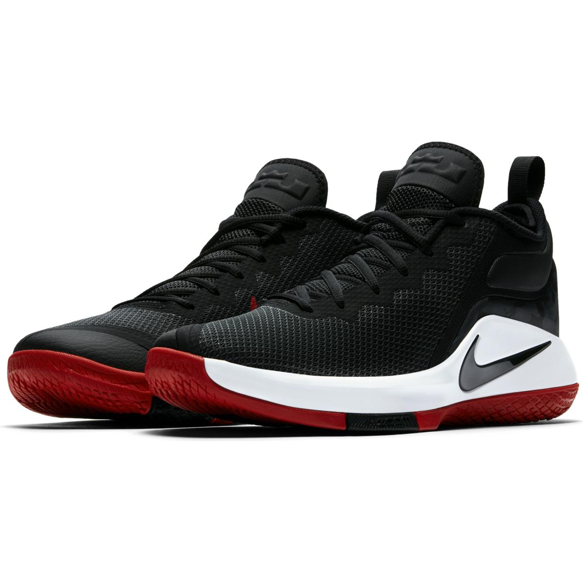 reputable site f6548 bea0b ... Shoes Black Purple Nike Lebron Witness II . ...