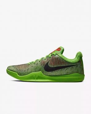 aeb5f93e705382 Nike Mamba Rage Grinch Basketball Shoes - BASKETBALL SHOES NIKE .