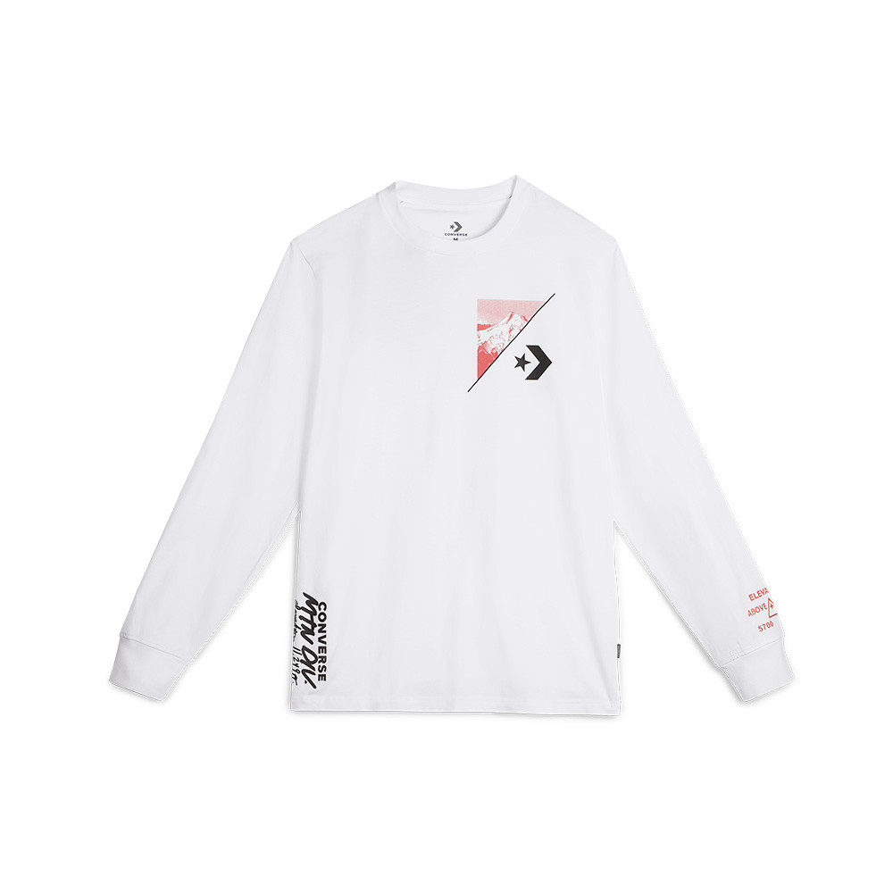 6a9e2663a622bb Converse Mountain Club Long Sleeve T-Shirt - SPORTING GOODS Sports Shirts