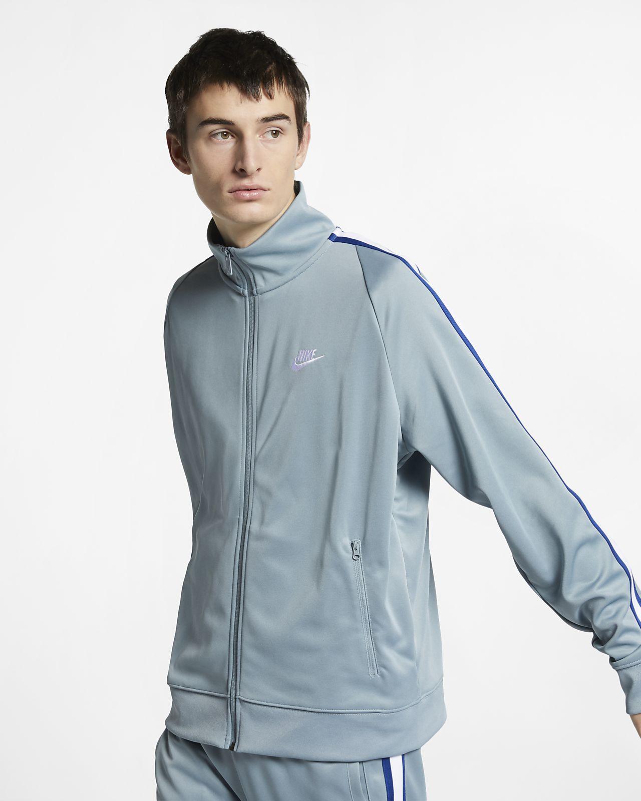 2a3875079 Nike Sportswear N98 Knit Warm-Up Jacket - SPORTING GOODS Sports Hoodies |  Sweatshirts - Superfanas.lt