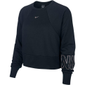 Nike Moteriškas Dri-FIT Get Fit Fleece Graphic Training Crew džemperis