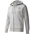 adidas Essentials 3 Stripes Full Zip Hoodie džemperis